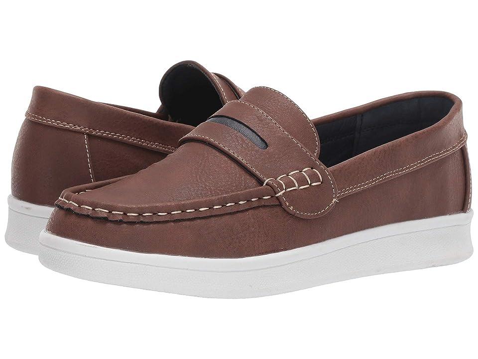 Steve Madden Kids Sharper (Toddler/Little Kid/Big Kid) (Brown) Boys Shoes