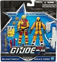 G.I. Joe 50th Anniversary Exclusive Action Figure 2-Pack Heated Battle [Blowtorch vs. H.E.A.T. Viper]