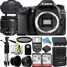 Canon EOS 80D Camera with 18-55mm IS STM + 2pcs 16GB...