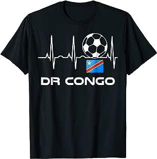 DRC Soccer Jersey Shirt Democratic Republic of the Congo Tee