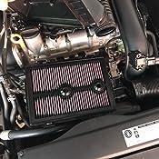 Filtro de aire Filtro de aire de alto rendimiento Filtro de aire de alto flujo Filtro de admisi/ón Compatible con 650R EX650 ER-6n 2006-2008