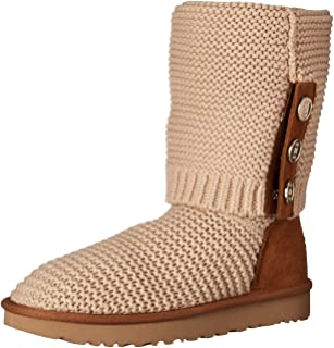 Women's W PURL Cardy Knit Fashion Boot