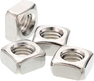 Anmas 10pcs A2 Stainless Steel Square Nuts M10 for Metric Screws Bolt