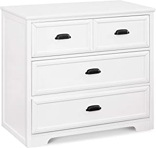Davinci Charlie Homestead 3 Drawer Dresser, White