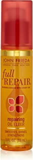 John Frieda Full Repair Repairing Elixir Oil, 3 Fluid Ounce
