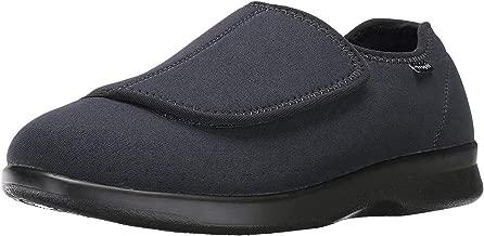 Propet Men's Cush N Foot Shoe,Black,10 5E US