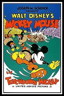 Touchdown Mickey Fridge Magnet 2.5x3.5 Classic Walt Disney Movie Poster