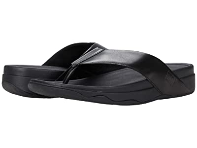 FitFlop Surfa (All Black Leather) Women
