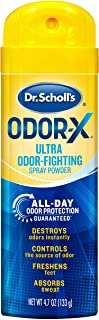 Dr. Scholl's Odor-X ODOR-FIGHTING Spray Powder // All-Day Odor Protection and Sweat Absorption - Packaging may vary