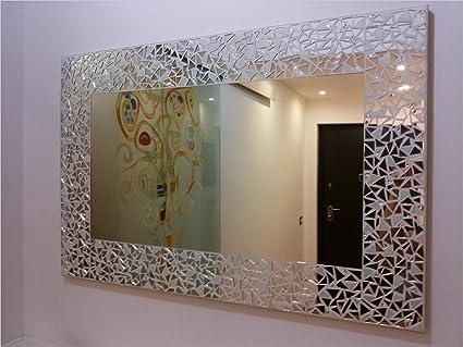 Specchio In Mosaico Moderno Per Ingresso Disponibile Su Misura Pezzo Unico Amazon It Casa E Cucina