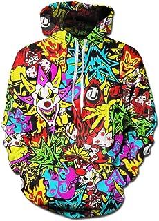 Men's Insane Clown Posse Christmas 3D Print Pullover Hoodie Hooded Sweatshirt