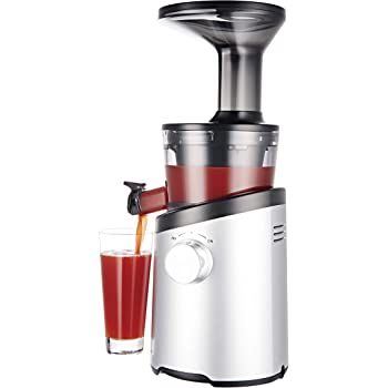 Hurom H101 Easy Clean Masticating Slow Juicer - Matte Silver