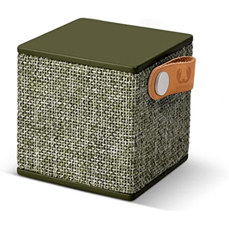 Fresh N Rebel Rockbox Cube Fabriq Edition Army Kabelloser Bluetooth Lautsprecher Audio Hifi