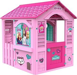 Chicos Casita infantil de exterior Barbie, color rosa con tejado fucsia (La Fábrica de Juguetes ...