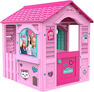 Chicos Casita infantil de exterior Barbie, color rosa con