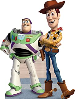 Advanced Graphics Buzz & Woody Life Size Cardboard Cutout Standup - Disney Pixar's Toy Story
