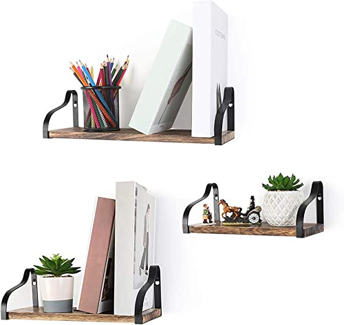 2021 labworkauto Floating high quality Shelves Set Wall popular Mounted Solid Wood Storage Shelves for Bedroom Living Room Bathroom Kitchen Office online