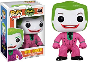 Funko The Joker: Batman 1966 Classic TV x POP! Heroes Vinyl Figure & 1 POP! Compatible PET Plastic Graphical Protector Bundle [#196644 / 03120 - B]