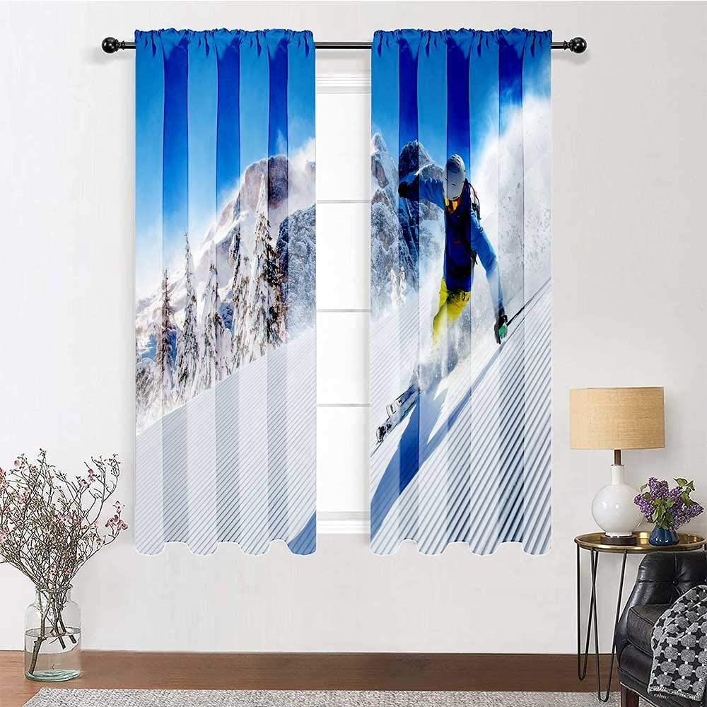 GugeABC Outdoor Curtains for Patio Wi 84 Las Vegas Mall Length Waterproof Ranking TOP19 inch