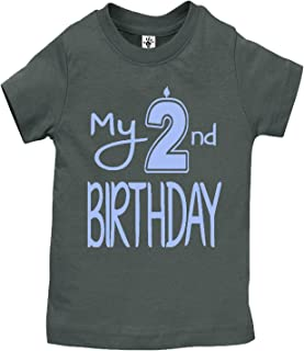 Aiden's Corner Boy's & Girl's My 2nd Birthday Shirts Handmade Clothes - Second Birthday Outfit