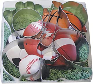 sports themed cookie cutters