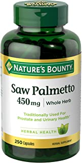 Nature's Bounty Natural Saw Palmetto 450 mg
