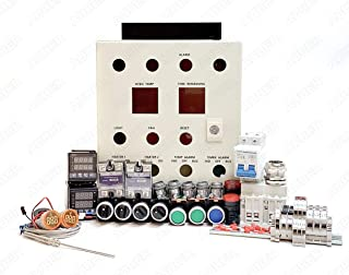 Auber Instruments Powder Coating Oven Controller Kit w/Light and Fan Control, 240V 50A 12000W (KIT-PCO401)