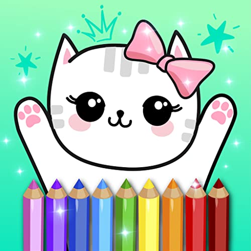 Coloring Pages Kids Games with Animation Effects
