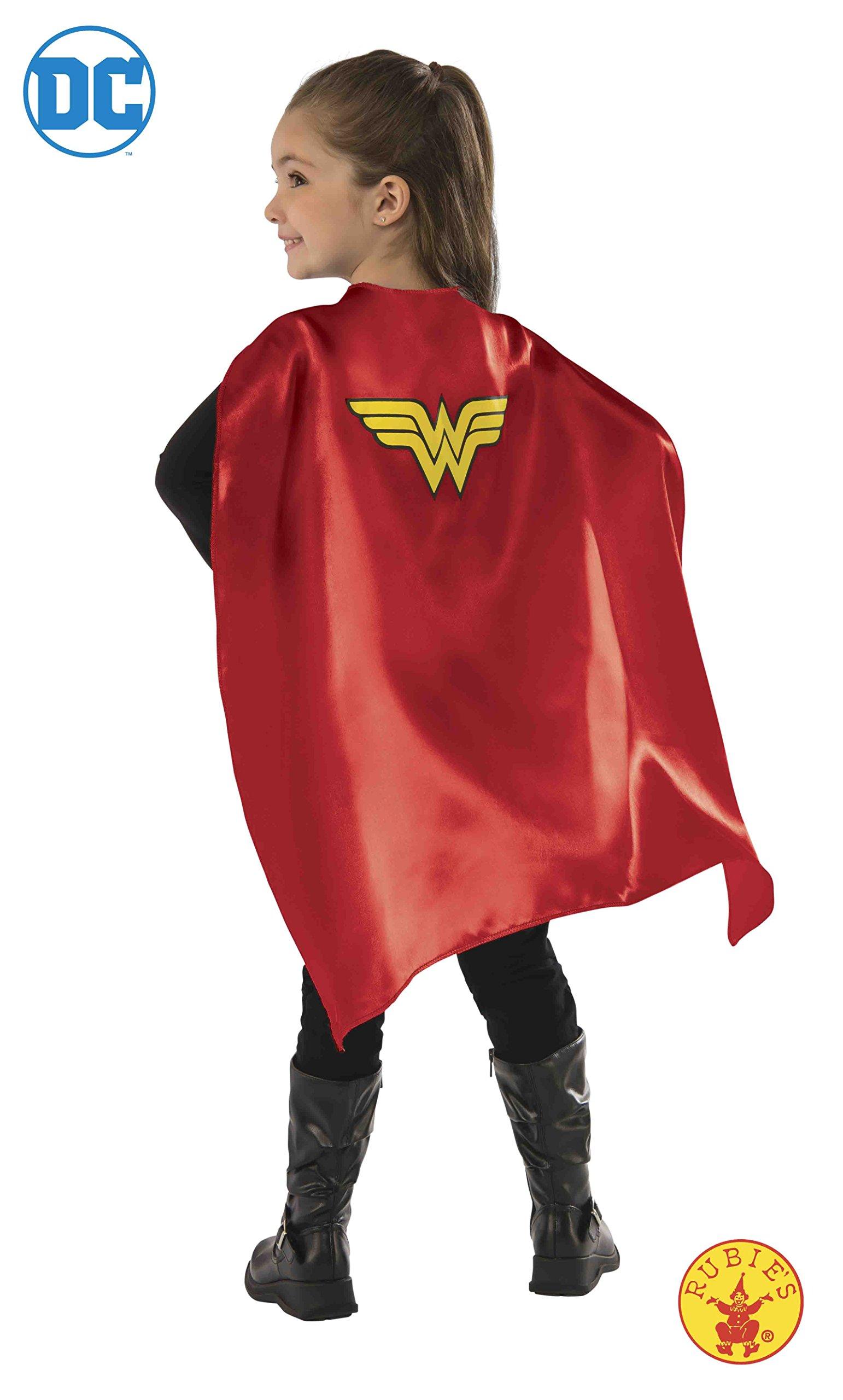 DC Comics - Capa de Wonder Woman para niña, accesorio de disfraz ...