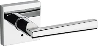 Kwikset 91550-027 Montreal Square Bed/Bath Lever, Polished Chrome