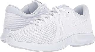 (ナイキ) NIKE レディースランニングシューズ?スニーカー?靴 Revolution 4 White/White/Pure Platinum 6.5 (23.5cm) D - Wide