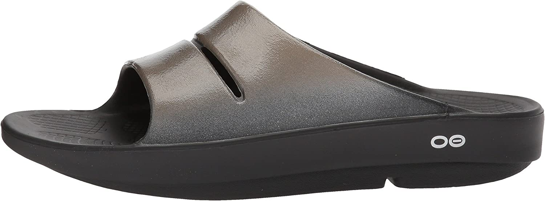 OOFOS OOahh Luxe Slide Sandal