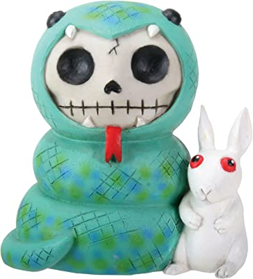 NEW Furrybones Furry Bones Froggie Frog Tadpole Skeleton Figurine Gift 7877