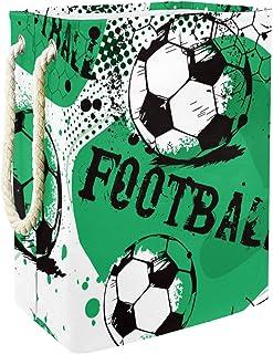 Vockgeng Football Football Sports Accueil Organisation Panier de Rangement imperméable Pliable de Jouets de Jouets de Pani...