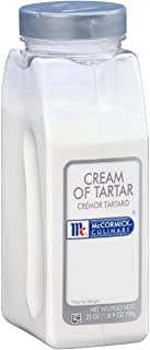 McCormick Culinary Cream of Tartar, 25 oz - One 25 Ounce Container of Cream of Tartar Powdered Thickening Agent for Egg Wh...