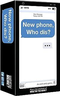 تلفن جدید ، چه کسی دیوانه است؟ - بازی حزب بزرگسالان توسط چه چیزی را به خاطر می آورید؟