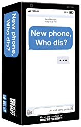 New Phone, Who Dis? - The 100% Offline Text Messaging Adult Party Game - by What Do You Meme?