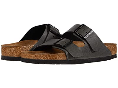 Birkenstock Arizona (Anthracite Pull Up) Shoes
