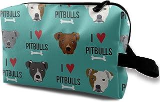 51e72388d372 Amazon.com: pitbull dog - Cosmetic Bags / Bags & Cases: Beauty ...
