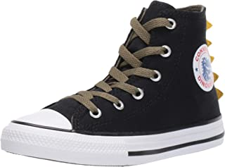 Converse Unisex-Child Chuck Taylor All Star Dino Spikes Sneaker