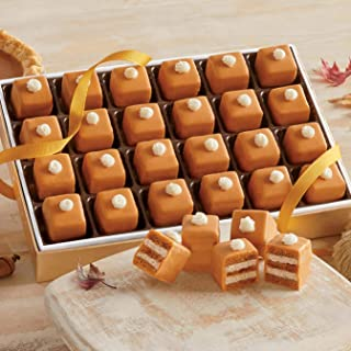 Pumpkin Pie Petits Fours from The Swiss Colony