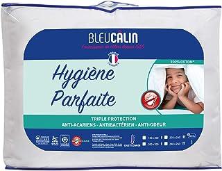 Bleu Câlin Couette Blanche 2 Personnes, Hygiène Parfaite Anti-Acariens Greencare, Coton, 220x240 cm, KGR40H
