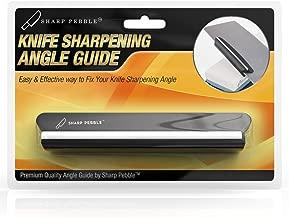 Sharp Pebble Whetstone Knife Sharpening Angle Guide