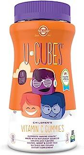 Solgar U-Cubes Children's Vitamin C, 90 Gummies - Includes 2 Great-Tasting Flavors, Orange & Strawberry - Immune Support -...