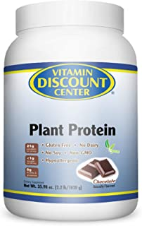 Vitamin Discount Center Plant Protein Chocolate 2.2 lb