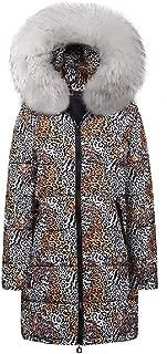 Howely Women's Faux Fur Collar Warm Padded Cotton Jacket Coat Winter Parka Coat