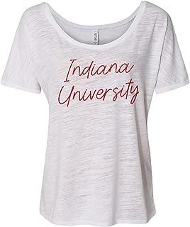 NCAA Sweet Script Womens Slouchy Tee, College, University