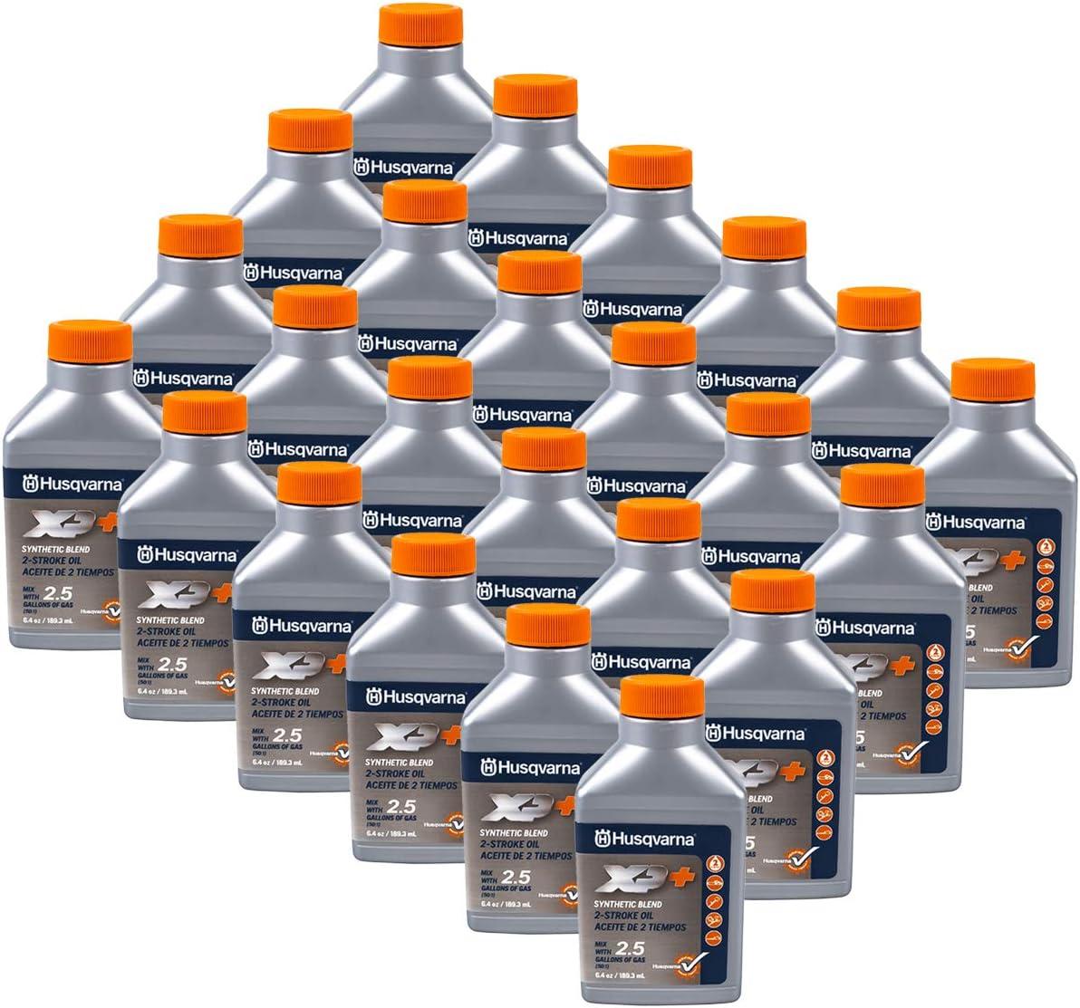 Husqvarna 24PK Genuine OEM XP Rapid rise 2-Cycle Gallon 2.5 6.4oz Mix Oil 5 Popular products