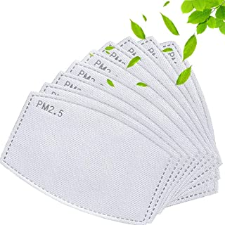 10PCS Activated Carbon Filter - 5 Layers Replaceable Anti Haze Filter PM2.5 Replaceable Filters
