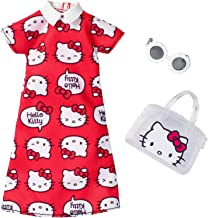 Barbie Fashions Hello Kitty Red Dress